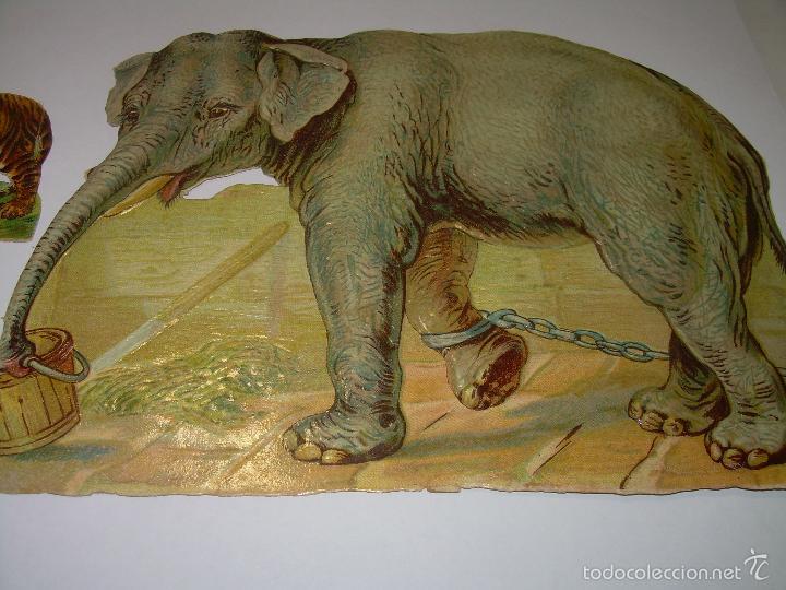 Coleccionismo Cromos troquelados antiguos: ENORME... CROMO ANTIGUO TROQUELADO....SIGLO XIX...PRINCIPIOS XX. - Foto 2 - 58731807
