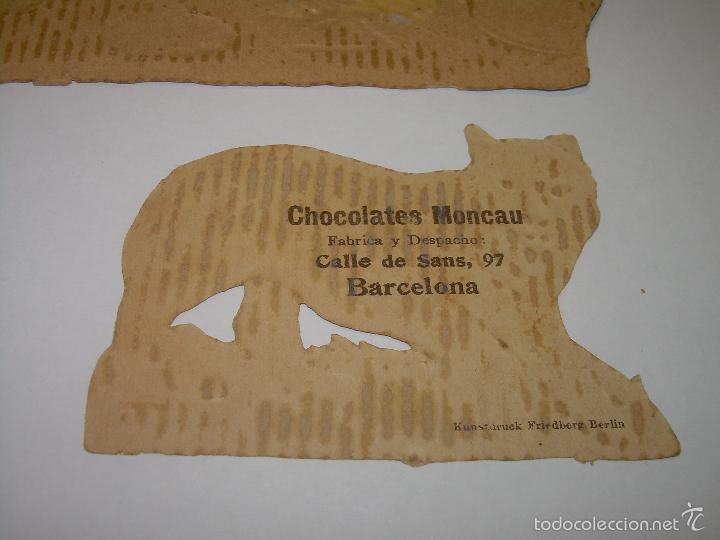 Coleccionismo Cromos troquelados antiguos: ENORME... CROMO ANTIGUO TROQUELADO....SIGLO XIX...PRINCIPIOS XX. - Foto 7 - 58731807