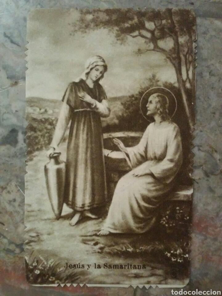 Coleccionismo Cromos troquelados antiguos: Lote de 7 estupendos cromos religiosos troquelados - Foto 4 - 62646883