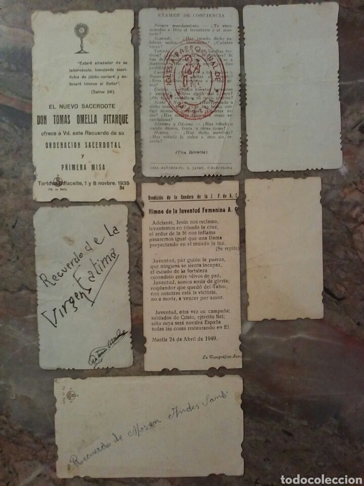 Coleccionismo Cromos troquelados antiguos: Lote de 7 estupendos cromos religiosos troquelados - Foto 9 - 62646883