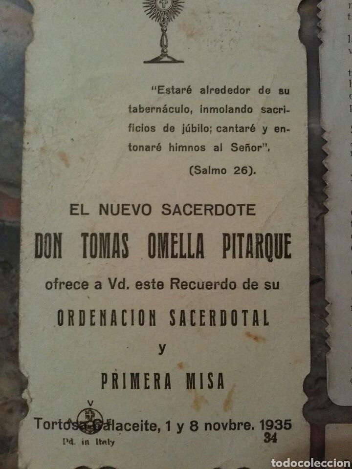 Coleccionismo Cromos troquelados antiguos: Lote de 7 estupendos cromos religiosos troquelados - Foto 10 - 62646883