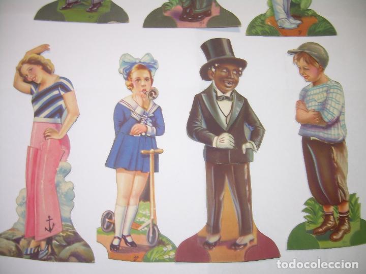 Coleccionismo Cromos troquelados antiguos: SIETE CROMOS TROQUELADOS DE ARTISTAS DE CINE.....CHOCOLATES AMATLLER. - Foto 3 - 64649615