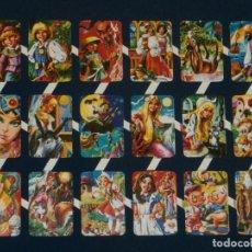 Coleccionismo Cromos troquelados antiguos: LAMINA CROMOS TROQUELADOS ESPAÑOLES MAVES 11. CUENTOS. PRINCIPE. Lote 98404750