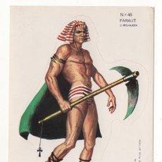 Coleccionismo Cromos troquelados antiguos: PEGATINA CROMO TROQUELADO DE BRUGUERA AÑO 1976 FARAUT. Lote 67958773