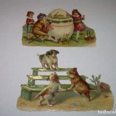 Coleccionismo Cromos troquelados antiguos: ANTIGUOS CROMOS TROQUELADOS....PRINCIPIOS SIGLO XX....DE CHOCOLATES.. Lote 70356905