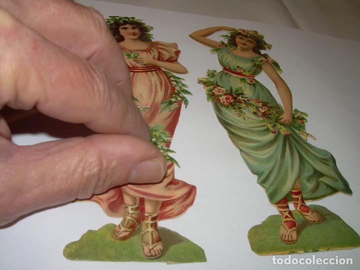 Coleccionismo Cromos troquelados antiguos: ANTIGUOS CROMOS TROQUELADOS....PRINCIPIOS SIGLO XX...MUY GRANDES. - Foto 4 - 70357205