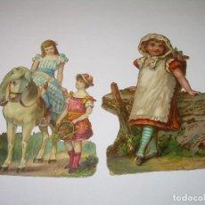 Coleccionismo Cromos troquelados antiguos: ANTIGUOS CROMOS TROQUELADOS....PRINCIPIOS SIGLO XX.. Lote 70357641