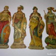 Coleccionismo Cromos troquelados antiguos: ANTIGUOS CROMOS TROQUELADOS....PRINCIPIOS SIGLO XX....DE CHOCOLATES.. Lote 70375713
