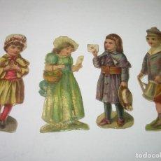 Coleccionismo Cromos troquelados antiguos: ANTIGUOS CROMOS TROQUELADOS....PRINCIPIOS SIGLO XX....DE CHOCOLATES.. Lote 74268399