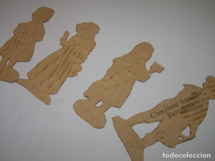 Coleccionismo Cromos troquelados antiguos: ANTIGUOS CROMOS TROQUELADOS....PRINCIPIOS SIGLO XX....DE CHOCOLATES. - Foto 2 - 74268399