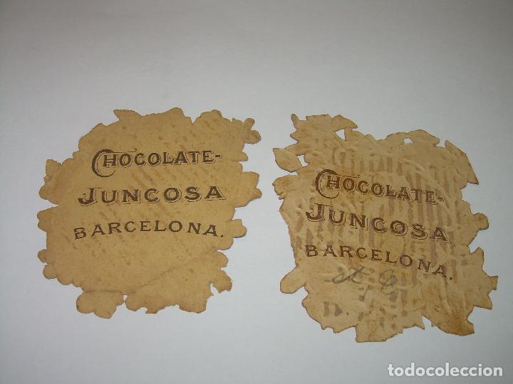 Coleccionismo Cromos troquelados antiguos: ANTIGUOS CROMOS TROQUELADOS....PRINCIPIOS SIGLO XX....DE CHOCOLATES. - Foto 2 - 74268531