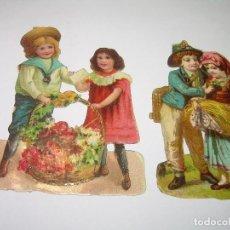 Coleccionismo Cromos troquelados antiguos: ANTIGUOS CROMOS TROQUELADOS....PRINCIPIOS SIGLO XX....DE CHOCOLATES.. Lote 74268735