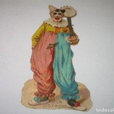 Coleccionismo Cromos troquelados antiguos: ANTIGUOS CROMOS TROQUELADOS....PRINCIPIOS SIGLO XX....DE CHOCOLATES.. Lote 74268955