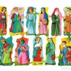 Coleccionismo Cromos troquelados antiguos: LAMINA DE CROMOS RECORTADOS TROQUELADOS CON RELIEVE EDITORIAL EVA Nº 148 ORIGINAL AÑOS 60 - 70. Lote 182914363
