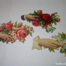 Coleccionismo Cromos troquelados antiguos: ANTIGUOS CROMOS TROQUELADOS...PRINCIPIOS SIGLO XX.. Lote 79606389
