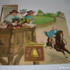 Coleccionismo Cromos troquelados antiguos: ANTIGUO CROMO TROQUELADO...PRINCIPIOS SIGLO XX.. Lote 79606629