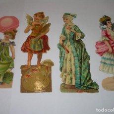 Coleccionismo Cromos troquelados antiguos: ANTIGUOS CROMOS TROQUELADOS....PRINCIPIOS SIGLO XX.. Lote 79625629