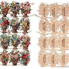Coleccionismo Cromos troquelados antiguos: LOTE DE 23 DE CROMOS TROQUELADOS SIGLO XIX -CHOCOLATES AMATLLER, BARCELONA. Lote 81038756