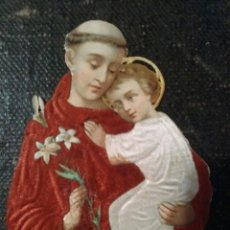 Coleccionismo Cromos troquelados antiguos: CROMO RELIGIOSO CARTON EN RELIEVE Y CALADO. Lote 82910276