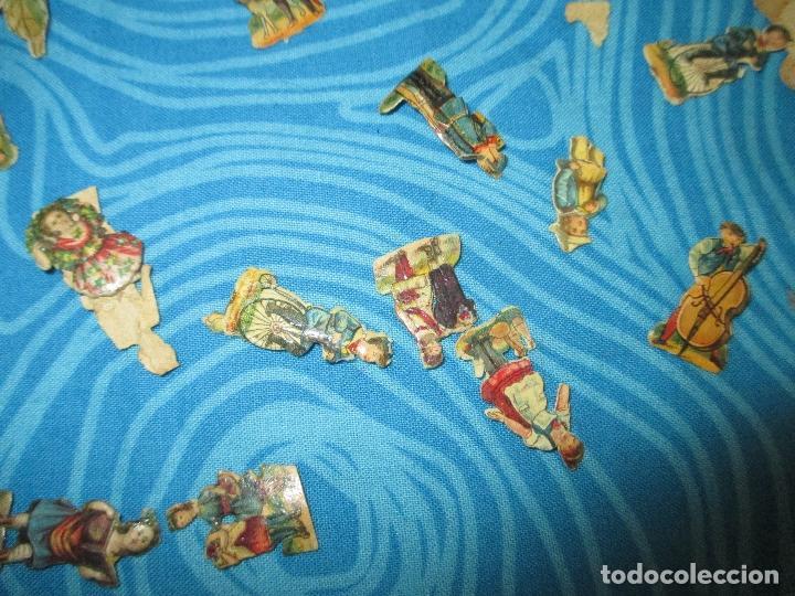 Coleccionismo Cromos troquelados antiguos: LOTE ANTIGUOS CROMOS VICTORIANOS - Foto 4 - 82972776
