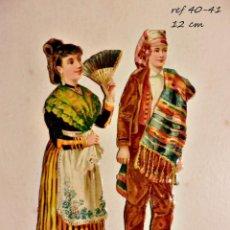 Coleccionismo Cromos troquelados antiguos: CROMOS TROQUELADOS DEL S XIX EN ESTADO IMPECABLE COLECCIÓN PRIVADA . Lote 84855896