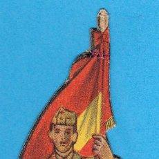 Coleccionismo Cromos troquelados antiguos: GUERRA CIVIL. CROMO - RECORTABLE - TROQUELADO. EJERCITO NACIONAL, CAPITÁN ABANDERADO, SIN FECHA.. Lote 86269608