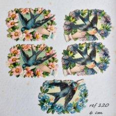 Coleccionismo Cromos troquelados antiguos: CROMOS TROQUELADOS CROMO TROQUELADO VICTORIANO S XIX PERFECTO ESTADO. Lote 86639680