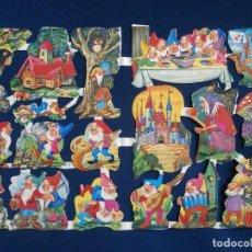Coleccionismo Cromos troquelados antiguos: LAMINA CROMOS TROQUELADOS MLP- 1481. Lote 98404776