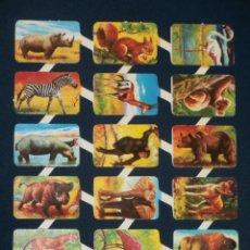 Coleccionismo Cromos troquelados antiguos: LAMINA CROMOS TROQUELADOS ESPAÑOLES MAVES 15. Lote 245482245