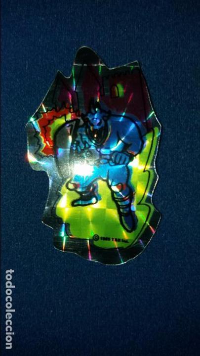 Coleccionismo Cromos troquelados antiguos: MATUTANO CROMO HOLOGRÁFICO DRAGONES Y MAZMORRAS NUNCA PEGADO MUY NUEVO MONSTRUO SECUAZ. LEER - Foto 2 - 92529275