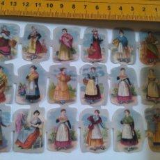 Coleccionismo Cromos troquelados antiguos: LIQUIDACION LAMINAS DE CROMOS . LAMINA DE CROMOS TROQUELADOS DE PICAR , JUEGO JUGUETES -. Lote 92827065