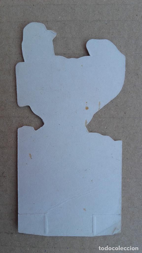Coleccionismo Cromos troquelados antiguos: Cromo Panrico troquelado - La frontera azul - Nº 3 Shin Chin - Buen estado de conservación - Foto 2 - 93167535