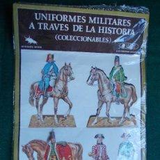 Coleccionismo Cromos troquelados antiguos: UNIFORMES MILITARES A TRAVES DE LA HISTORIA. Lote 95516439