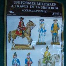 Coleccionismo Cromos troquelados antiguos: UNIFORMES MILITARES A TRAVES DE LA HISTORIA. Lote 95516467