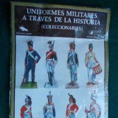 Coleccionismo Cromos troquelados antiguos: UNIFORMES MILITARES A TRAVES DE LA HISTORIA. Lote 95516499