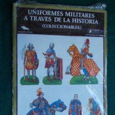 Coleccionismo Cromos troquelados antiguos: UNIFORMES MILITARES A TRAVES DE LA HISTORIA. Lote 95516515