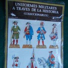 Coleccionismo Cromos troquelados antiguos: UNIFORMES MILITARES A TRAVES DE LA HISTORIA. Lote 95516527