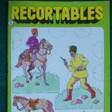 Coleccionismo Cromos troquelados antiguos: RECORTABLES COSACOS. Lote 95728447