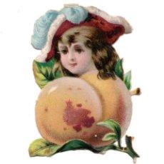 Coleccionismo Cromos troquelados antiguos: CROMO TROQUELADO SIGLO XIX - CHOCOLATES. Lote 100079819
