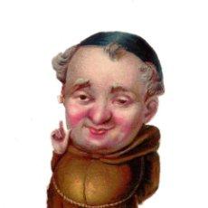 Coleccionismo Cromos troquelados antiguos: CROMO TROQUELADO SIGLO XIX - CHOCOLATES. Lote 100080763