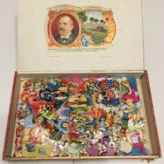 Coleccionismo Cromos troquelados antiguos: CAJA DE CROMOS TROQUELADOS VARIADOS. Lote 271593623