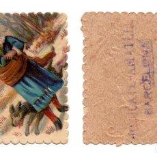 Coleccionismo Cromos troquelados antiguos: CROMO TROQUELADO SIGLO XIX - PROPAGANDA - CHOCOLATES AMATLLER, BARCELONA. Lote 104019395