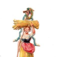 Coleccionismo Cromos troquelados antiguos: CROMO TROQUELADO SIGLO XIX . Lote 104027111