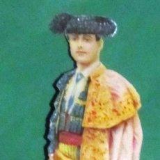 Coleccionismo Cromos troquelados antiguos: TORERO CROMO TROQUELADO FINALES S XIX A - XX, ORIGINAL DE ÉPOCA, 13 CM. Lote 107666411