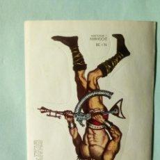 Coleccionismo Cromos troquelados antiguos: PEGATINA CROMOS TROQUELADOS ADHESIVOS BRUGUERA AÑO 1976 N- 38 DOGMAN. Lote 108094967