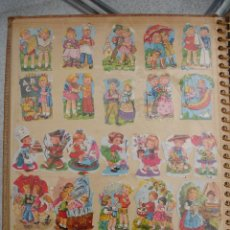 Coleccionismo Cromos troquelados antiguos: ALBUM DE CROMOS ANTIGUOS. Lote 109313523