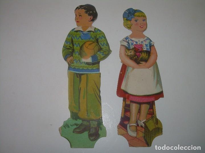ANTIGUOS CROMOS CHOCOLATE EVARISTO JUNCOSA. (Coleccionismo - Cromos y Álbumes - Cromos Troquelados)