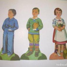 Coleccionismo Cromos troquelados antiguos: ANTIGUOS CROMOS CHOCOLATE EVARISTO JUNCOSA.. Lote 111205243