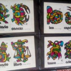 Coleccionismo Cromos troquelados antiguos: PEGATINA CROMO TROQUELADO BRUGUERA HAY 5 ZODIACO MUYYYY DIFICIL UNICO EN T.C. TAMAÑO POSTAL. Lote 117763491