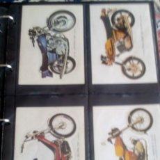 Coleccionismo Cromos troquelados antiguos: PEGATINA CROMO TROQUELADO BRUGUERA AÑO 1976 MEDIDAS 13,5X9,5 CM HAY 10 DIFERENTES. Lote 117766407